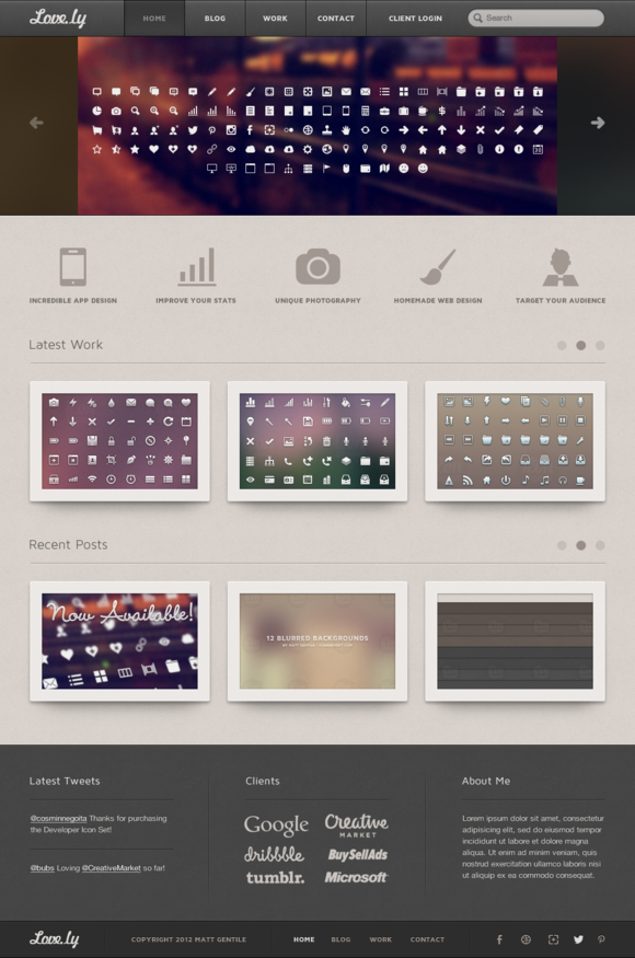 Love.ly Personal Designer Template