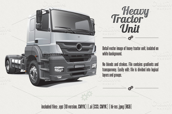 Heavy Tractor Unit