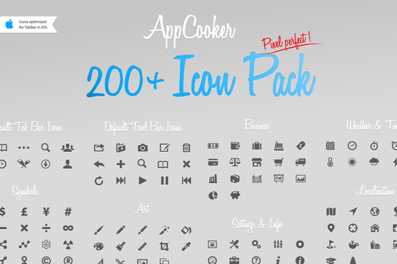 AppCooker Vector Icon Pack