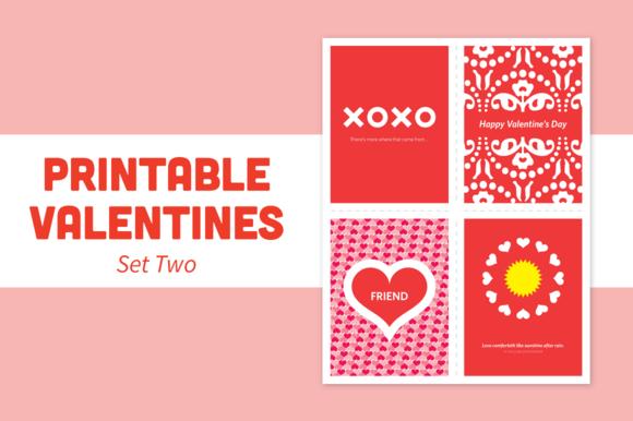 Printable Valentines Set Two