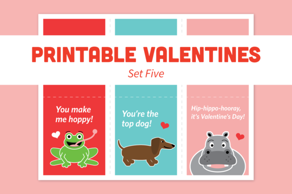 Printable Valentines Set Five