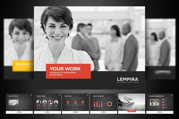 Lempira PowerPoint Presentation