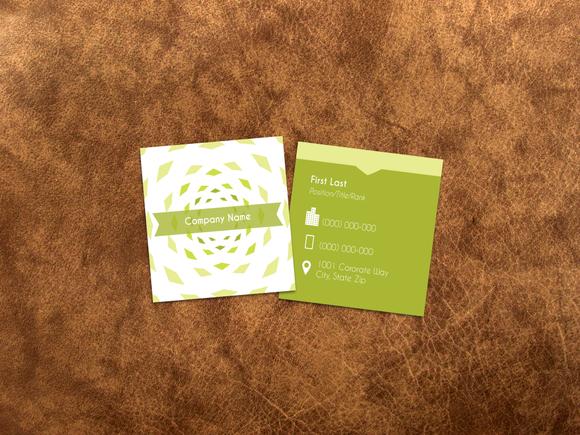 Sharp Business Card Template