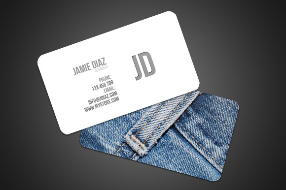 Jeans Style Card
