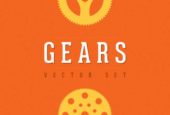 Gears Vector Set