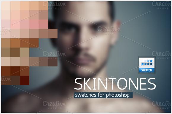 Skintones Swatches