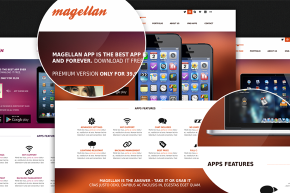Magellan Template Retina Ready