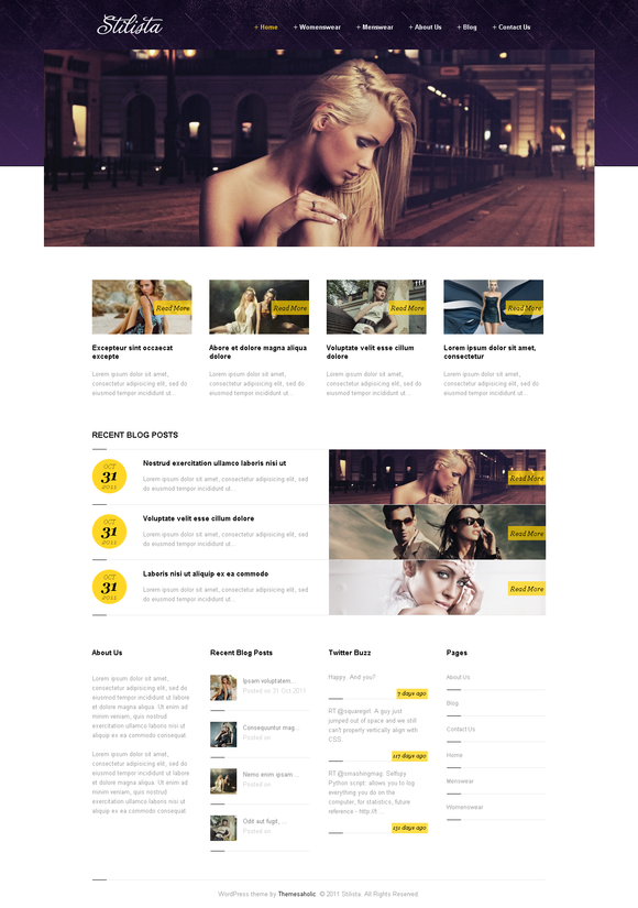 Stilista Wordpress Theme