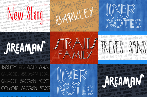 AdultHuman Font Family Discount Pack