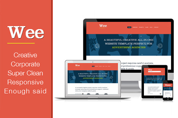 Responsive Business Template Wee