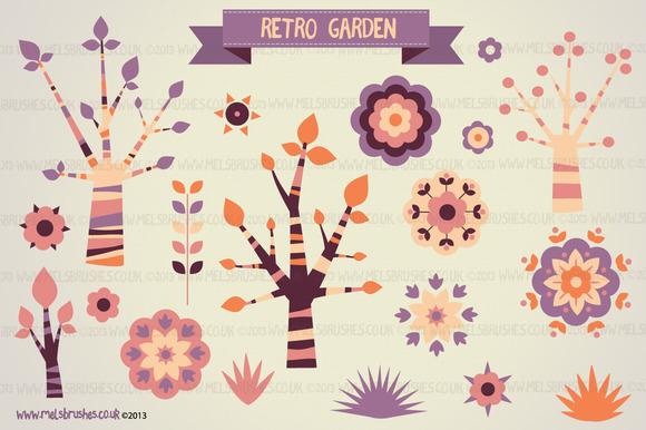 Retro Garden