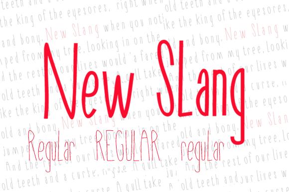 New Slang Regular