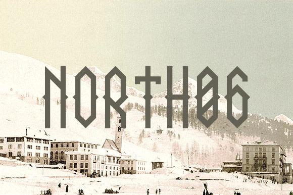 NORTH 06 Font