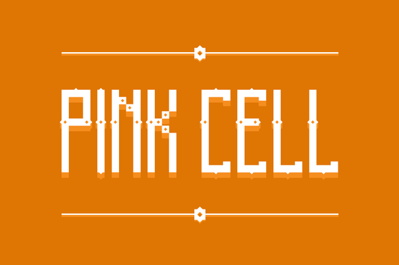 Pink Cell Font