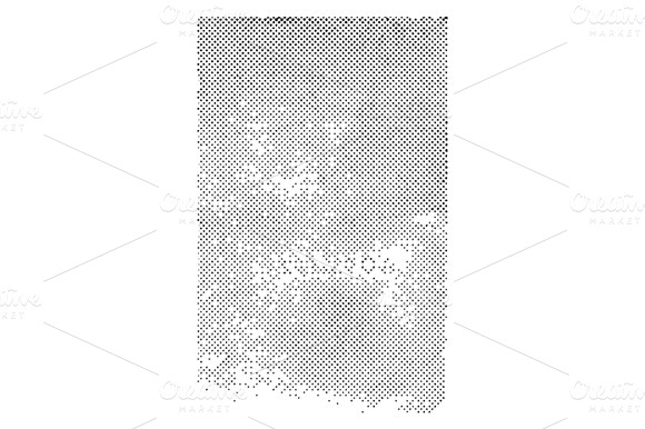 Distressed Halftone Vector