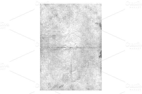 Halftone Paper Texture Vector