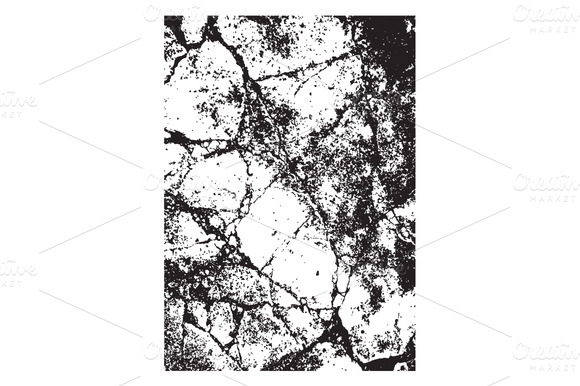 Cracked Surface Texture Vector
