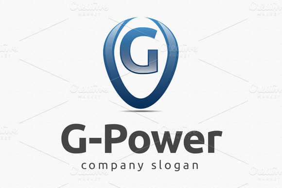 G Power Logo Template