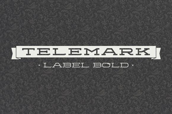 Telemark Label Bold