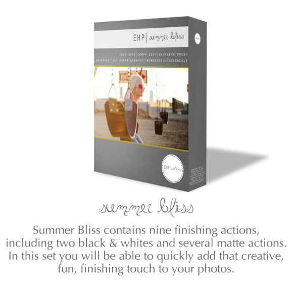 Summer Bliss Photoshop Actions