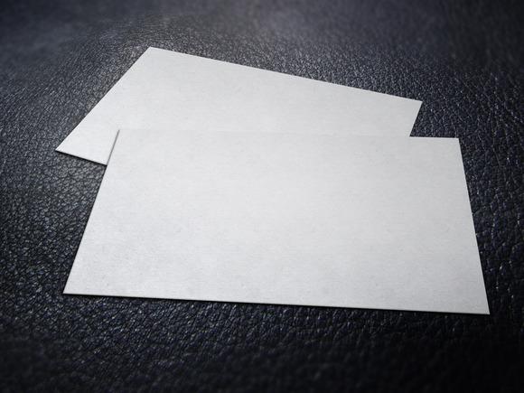 Business Card Mockup Set #2