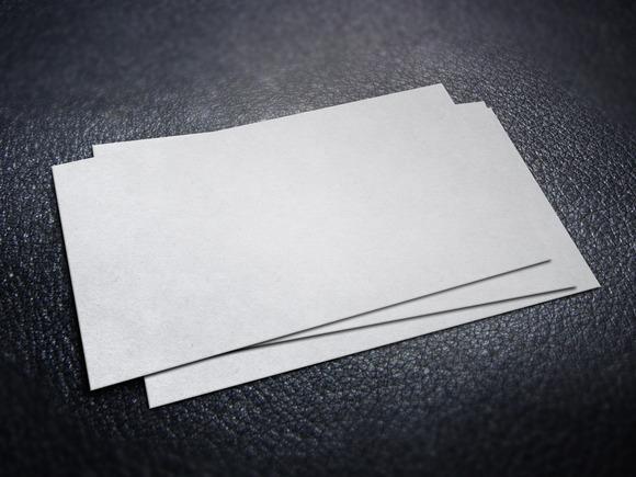 Business Card Mockup Set #3