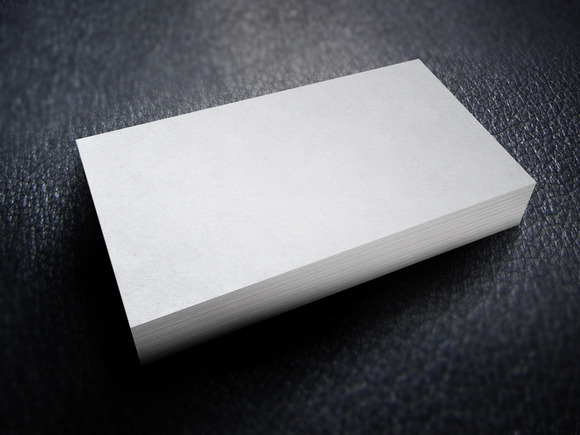 Business Card Mockup Set #4