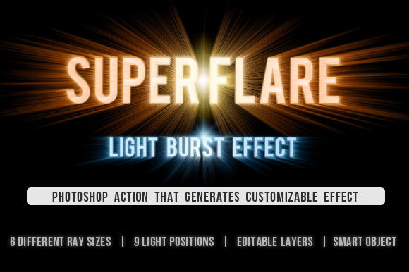 SuperFlare Back Light Burst Action