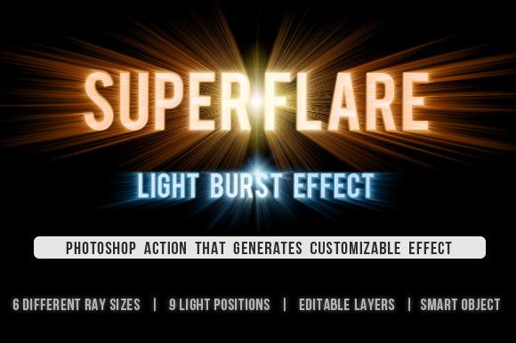 SuperFlare Back Light Burst Action