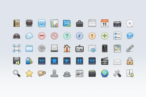 Design Portfolio Icons