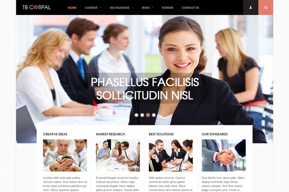 TB Corpal Drupal Corporate Theme