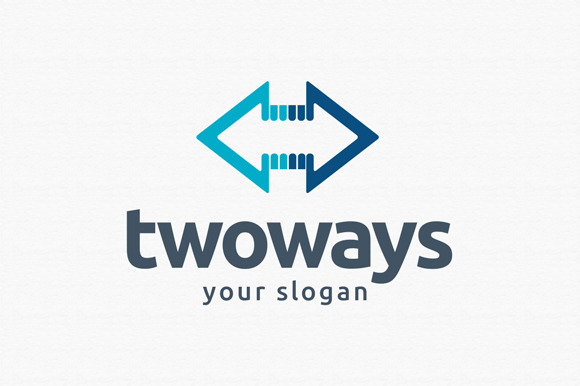 Two Ways Logo Template