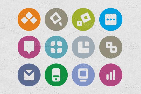 Icons Set For SEO Company
