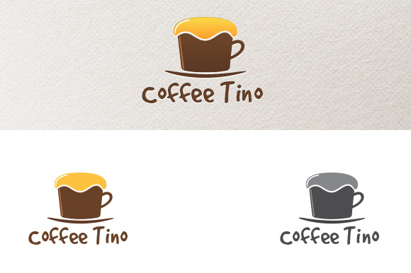 Coffee Tino Logo Template