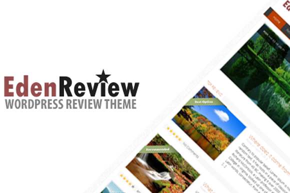 EdenReview Resposive Review Theme