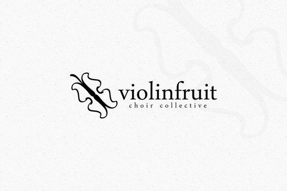 Violin Fruit Logo