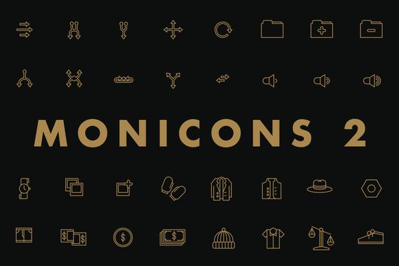 Monicons 2 100 Icons