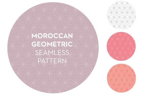 Moroccan Geometric Seamless Pattern
