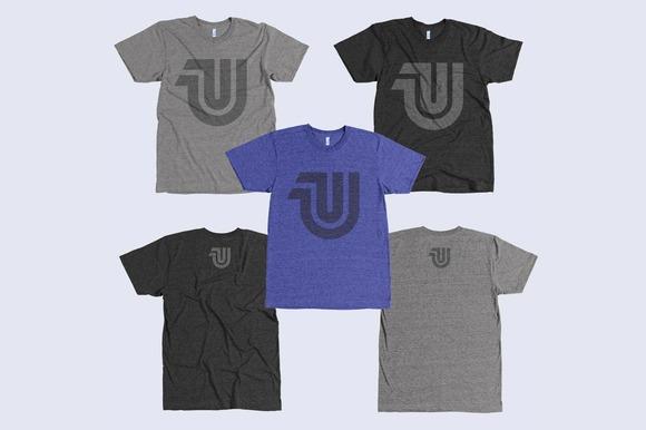 Tri-Blend T-Shirt Mockup Templates