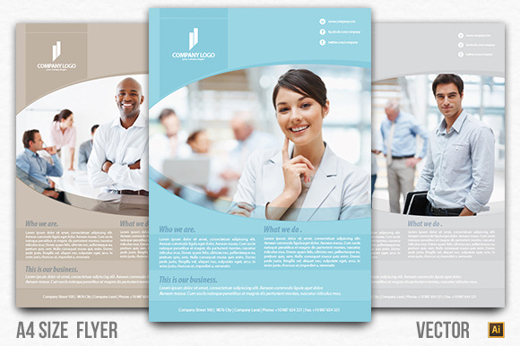 Multipurpose Business Flyer Vector