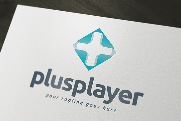 Plus Player Logo Template