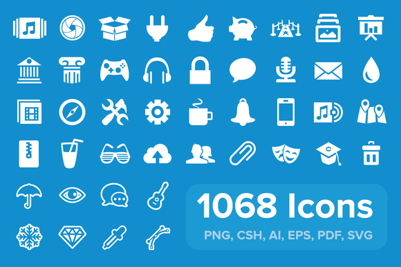 Pixicon User Interface Icons
