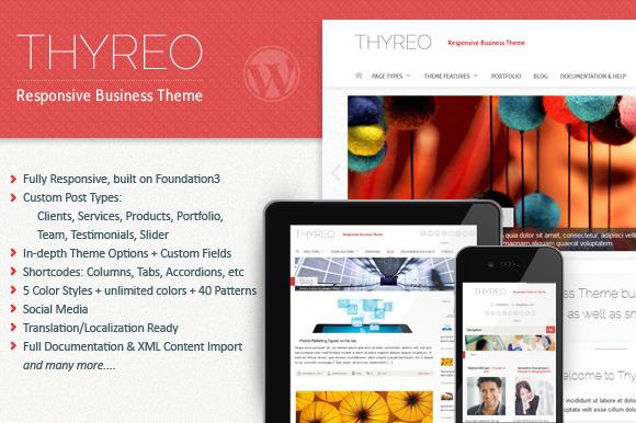 Thyreo Responsive WordPress Theme