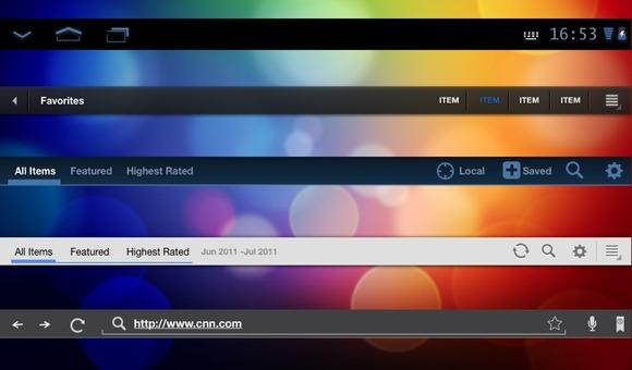 PowerPoint UI Design Templates