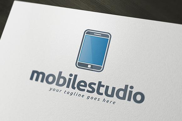 Mobile Studio Logo Template