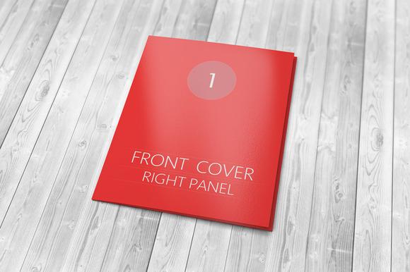 Tri-fold Brochure Mockup 50%off