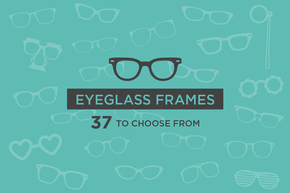 Eyeglass Frames 37 Vectors