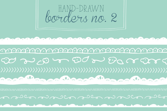 Hand-Drawn Borders No 2
