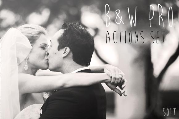 B W PRO Actions Set