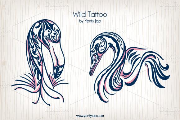 Wild Tattoo Vector Animal